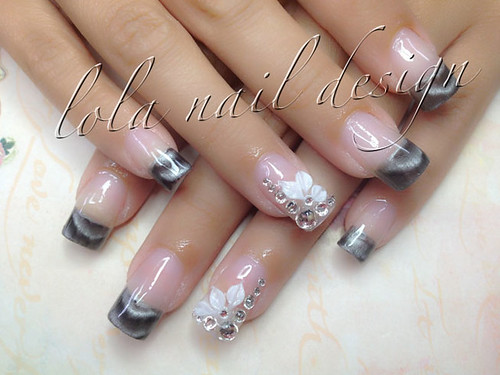 Flickriver annanails1s most interesting photos magnetic nail design prinsesfo Choice Image