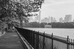 run and rain 5 (zoolien) Tags: leica blackandwhite bw usa newyork rain noiretblanc centralpark manhattan run nb m9