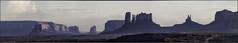Monument Valley (Christopher Rosenberger) Tags: panorama desert monumentvalley rockformations