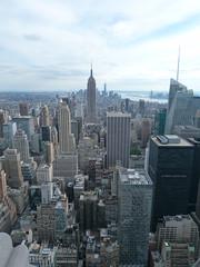 On top of Manhattan (syfractal) Tags: nyc newyork manhattan empirestatebuilding transamericatower hirisebuildings