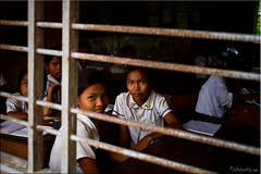 Classroom 0365 (Ursula in Aus (Travelling - Patchy wifi)) Tags: school girls portrait female cambodia khmer classroom uniforms siemreap primary earthasia sandanschool