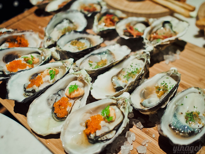 Skyve Wine Bistro Oysters