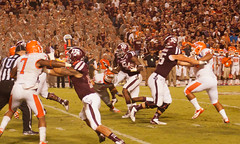 Texas A&M Vs Sam Houston State-1147 (Shutterbug459) Tags: football am university texas sec ncaa collegestation bearcats texasam aggies kylefield samhoustonstateuniversity 20130907