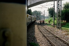 Guess whos back (Florian_Dré) Tags: old trip travel india mountains film nature youth analog train 35mm canon vintage photography ae1 indian grunge grain rail railway jeunesse adventure explore journey indie himalaya leh manali juventud