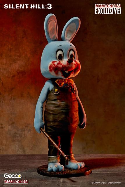 「豆魚雷限定」Silent Hill的吉祥物撲殺兔(藍色版)!