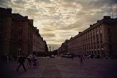 Sunset over Rue Soufflot