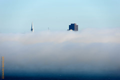San Francisco (Edi Bähler) Tags: california building nebel structure highrise sausalito bauwerk gebäude hochhaus vereinigtestaaten nikond3 150500mmf563 transamericanasanfranciscolm