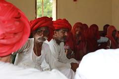Village meeting - Educate Girls, Rajasthan - Oct 2013