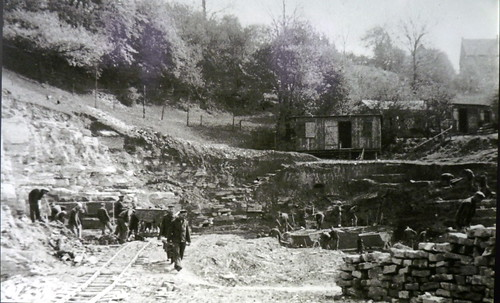 wewelsburg castle - quarry with KZ inmates