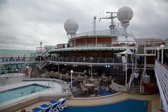 Another view of deck 14 (ChrisBrookesPhotography.co.uk) Tags: cruise boat ship 14 cruising deck po southampton oceana pando pennantbar rivierabar e325 horizongrill