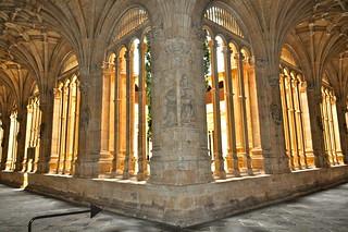 Claustro del Convento de San Esteban (1), Salamanca.
