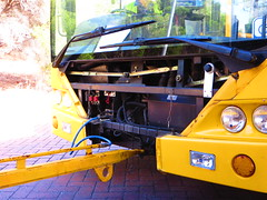 Busway Rescue! (RS 1990) Tags: november rescue bus wheel truck busway steering cab dumbo mercedesbenz controls vehicle adelaide guide dashboard 14th thursday southaustralia recovery scania interchange 1112 airhose obahn towbar modbury 2013 teatreeplaza k320ua