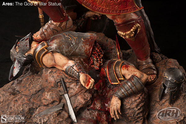 戰神阿瑞斯英勇雕像推薦