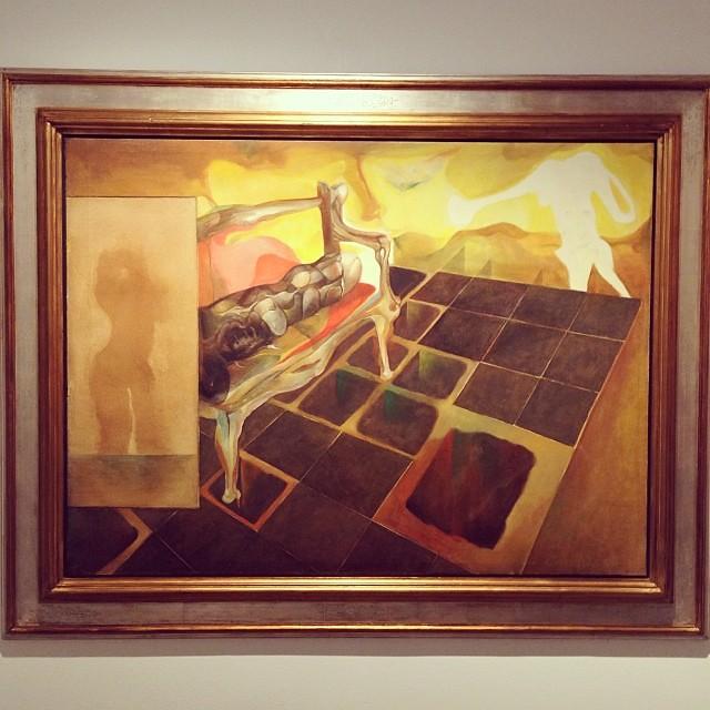 """""""El Canapé"""" 1969 • """"El Pasado Presente"""" de Gerardo Chávez #art #arte #arteenlima #artinlima #artista #artist"""