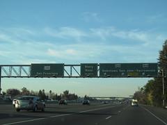 US Highway 101 - California (Dougtone) Tags: california road sign highway route freeway shield elcaminoreal expressway us101