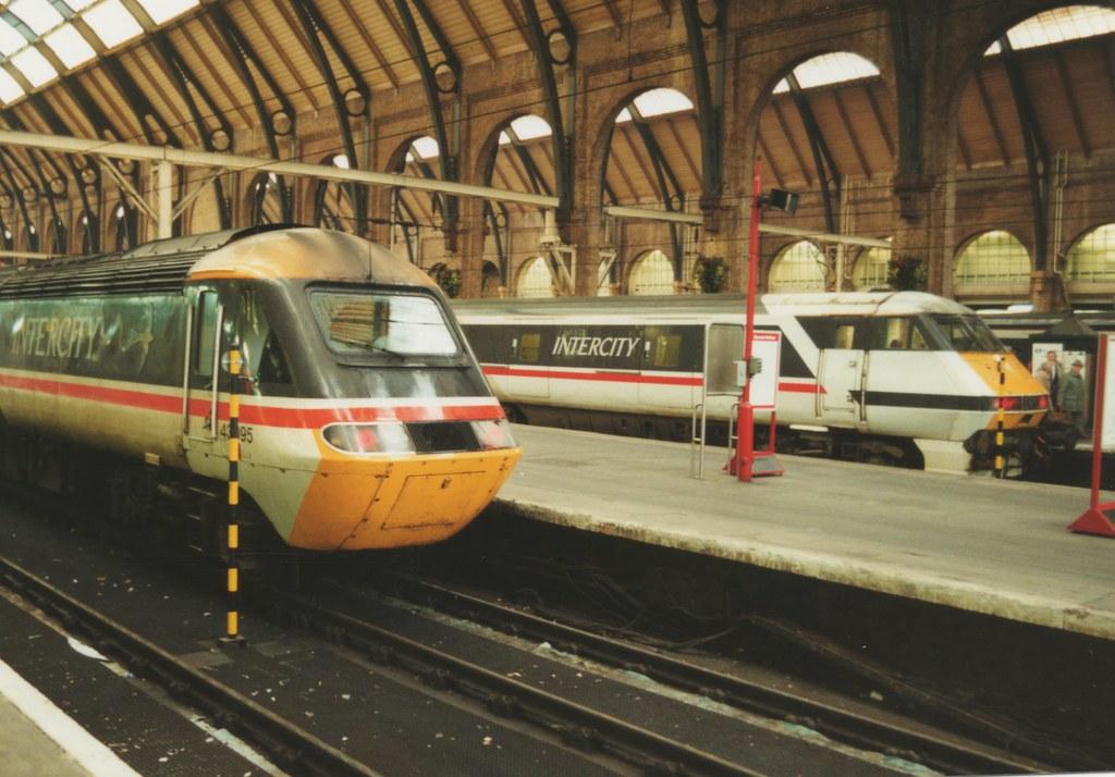 "Intercity Swallow Class 43, 43095 (37190 ""Dalzell"") Tags: london"