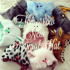 New Animal Hat tomorrow in my Corner at 10:30pm (spanish time)