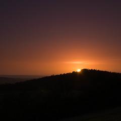 sunset over St Martha's Hill (naddan28) Tags: landscape surrey newlandscorner gh3