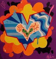 Abstract Heart (tatscruinc) Tags: bio tatscru paintmarkers themuralkings abstractheart