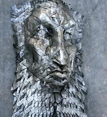 goderic 3 (origami joel) Tags: face paper origami mask joel cooper tessellation origamijoel