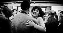Happiness (B.B.H.70) Tags: madrid people espaa woman smile bar mujer spain fiesta chica gente market happiness celebration mercado sonrisa felicidad