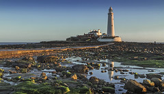 St Mary's lighthouse (Katybun of Beverley) Tags: lighthouse landscape whitleybay stmaryslighthouse northtyneside baitisland