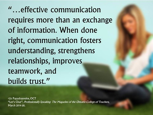 "Quotation:   ""...effective communication by Ken Whytock, on Flickr"