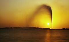 Fountain & sunset! (Ali:18 ( )) Tags: sunset fountain saudi arabia jeddah ksa  nd8   phottix 1585mm