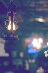 Lumos! (LollyGates8D) Tags: light film luz colors cores 50mm photo bokeh photograph luzes lovely lamparina lumos