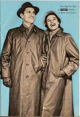 1963 Kleppermode (dykthom1000) Tags: fashion raincoat mode 1963 regenmantel kleppermantel kleppermode