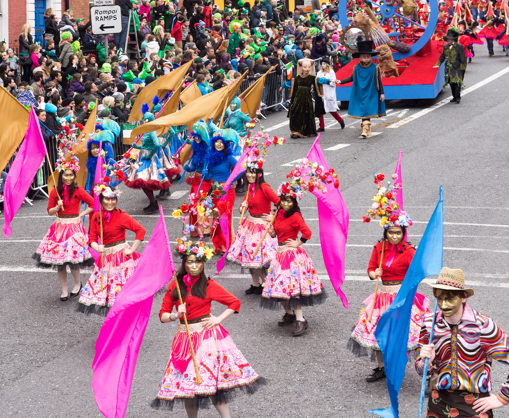 St. Patrick's Day Parade In Dublin, Monday 17th 2014