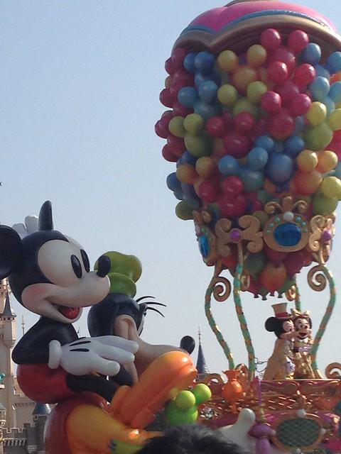 すっごくカワイイ〜♪ギリギリでしたが、何とかミッキー&ミニ。|東京ディズニーランド