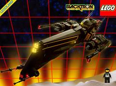 Hunter - Blacktron 1 - Package shot (Brixnspace) Tags: