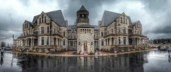 Shawshank Panorama (Devin Hull Photo) Tags: ohio panorama nikon prison hdr mansfield shawshank reformatory d5100 flickrandroidapp:filter=none