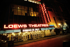 Loews (dovetaildw) Tags: boston nikon neon glow massachusetts loews textured theatres bostonist d7000
