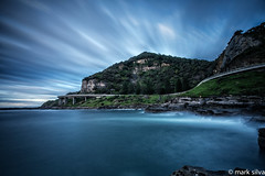 one temporary escape (mark silva) Tags: ocean longexposure cloud clouds sydney australia nsw southcoast wollongong seacliffbridgecoalcliff