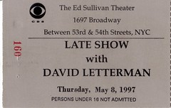 Late Show with David Letterman audience flown in from Minnesota (ToddJ) Tags: newyork minnesota lateshow calvert davidletterman lateshowwithdavidletterman deforest rupertgee