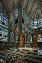 Soaring (billmclaugh) Tags: panorama church photoshop canon catholic cathedral kentucky basilica gothic shift stainedglass hdr highdynamicrange lightroom covington photomatix stmaryscathedralbasilicaoftheassumption vertorama 17mmtse 5dmiii