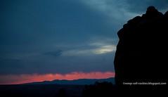 Stormy Sunset over the Desert (KB RRR) Tags: sunset utah desert redrock