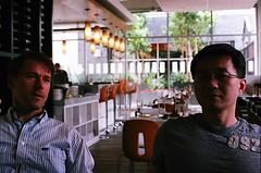Michael's Pizzeria, Downtown Long Beach Promenade (jjldickinson) Tags: nikonf nikonfphotomicftn nikkor nikkors50mmf14 tiffen52mmsky1a fujicolorsuperiaxtra400 roll511n downtown promenade restaurant italian pizza michaelspizzeria lunch food eating urbanscience deanchang dariuszamoyski longbeach
