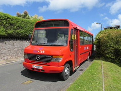 S249UTD, Middle Warberry Road, Torquay, 25/05/14 (aecregent) Tags: mercedes beaver torquay vario plaxton baylink o814 s249utd 250514