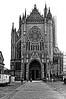 Cathédrale de Metz (domiloui) Tags: blackandwhite bw black france monument architecture flickr culture histoire lorraine eglise façade metz documentaire cooliris cathedrales blinkagain