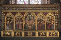 Basilica of Santa Croce, Florence (Kotomi_) Tags: italy holiday church florence basilica firenze alter holycross