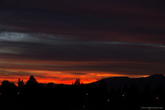 Sunset (Zorro1968) Tags: sunset sky canada weather silhouette vancouver clouds bc