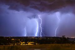 Electricité dans l'air (cirrus007) Tags: david impact thunderstorm toulouse midi garonne orage haute pyrénées lightining éclair pech foudre