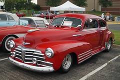 1948 Chevrolet Fleetline (DVS1mn) Tags: auto new london cars chevrolet car automobile gm brighton antique bowtie chevy annual brass automobiles 29th generalmotors antiquecars horselesscarriage brassera 29thannualnewlondontonewbrightonantiquecar