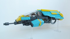 Ipheion (IceCreamManatee) Tags: lego space spaceship ship starfighter figher greeble greebling sci fi scifi science fiction