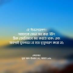 কোরআন, সূরা আল-ইমরান (৩), আয়াত ১০২ (Allah.Is.One) Tags: faith truth quran verse ayat ayats book message islam muslim text monochorome world prophet life lifestyle allah writing flickraward jannah jahannam english dhikr bookofallah peace bangla bengal bengali bangladeshi বাংলা সূরা সহীহ্ বুখারী মুসলিম আল্লাহ্ হাদিস কোরআন bangladesh hadith flickr bukhari sahih namesofallah asmaulhusna surah surat zikr zikir islamic culture word color feel think quotes islamicquotes