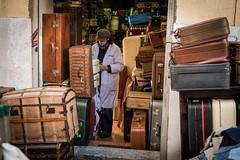 Suitcases (Hans Dethmers) Tags: suitcase koffer koffers shop winkel madrid elrastro rastro markt market