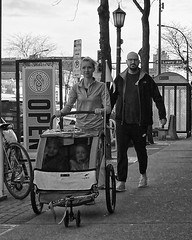 (daveson47) Tags: candid mono bw blackandwhite children stroller street streetphoto streetphotography minneapolis ricoh ricohgrd grd grdv